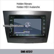 Holden Monaro Holden HSV Avalanche stereo radio DVD GPS TV SWE-H7317