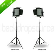 Studio Lighting Kits - LED Professional Studio Video Lighting Kit